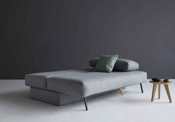 Дизайнерски разтегателен диван Osvald сив 8