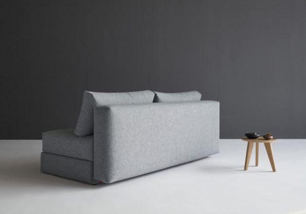 Дизайнерски разтегателен диван Osvald сив 9