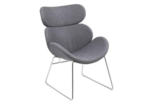 Кресло Cazar светло сиво