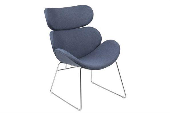 Кресло Cazar тъмно синьо