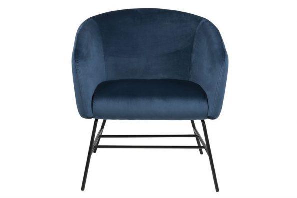 Кресло Ramsey индиго плюш1