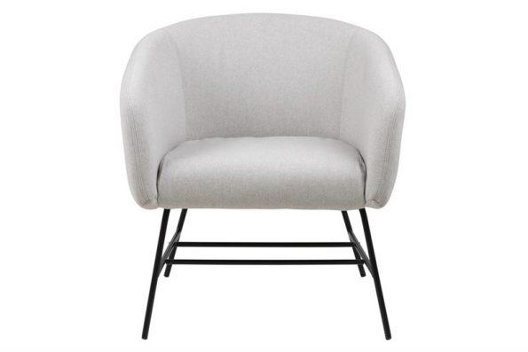 Кресло Ramsey светло сиво 1