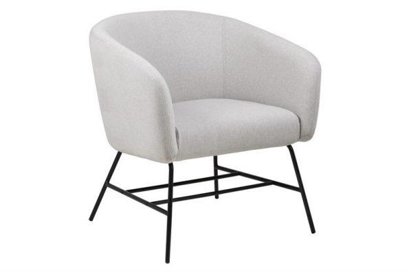 Кресло Ramsey светло сиво