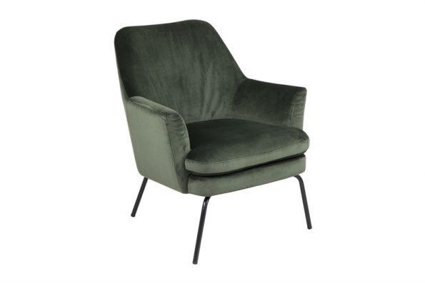Кресло Chisa горско зелен плюш