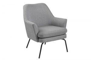 Кресло Чиза светло сиво
