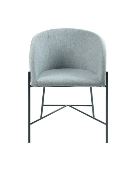 Стол за трапезария Nelson светло сив 1