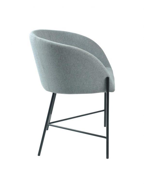 Стол за трапезария Nelson светло сив 2