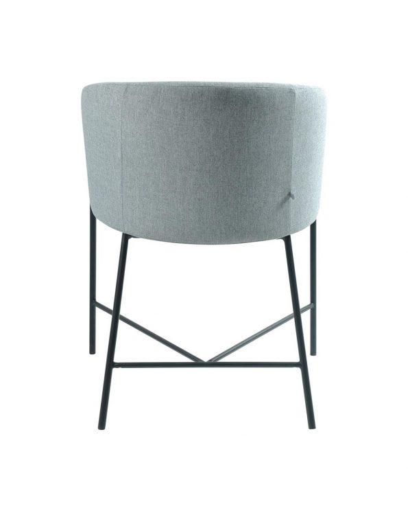 Стол за трапезария Nelson светло сив 3