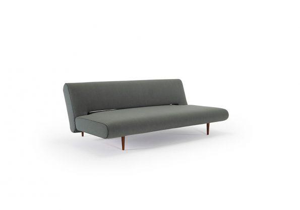 Дизайнерски разтегателен диван Unfurl Lounger зелен 3