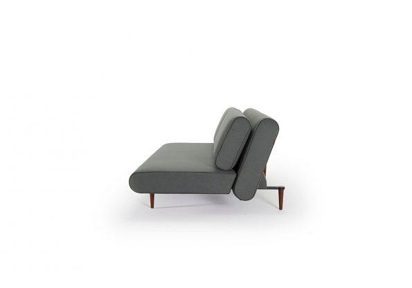 Дизайнерски разтегателен диван Unfurl Lounger зелен 8