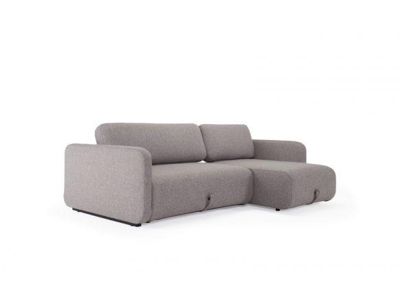 Дизайнерски разтегателен диван Vogan сив