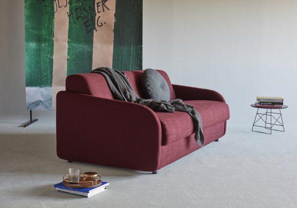 Разтегателен диван Eivor-140-576-Kenya-Bordeaux