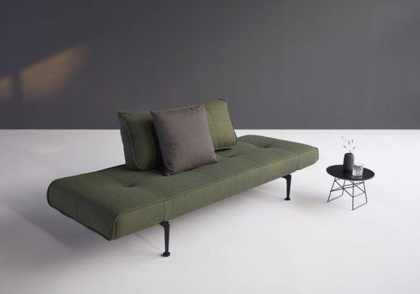 Разтегателен диван-легло Zeal Laser Dark Green 2