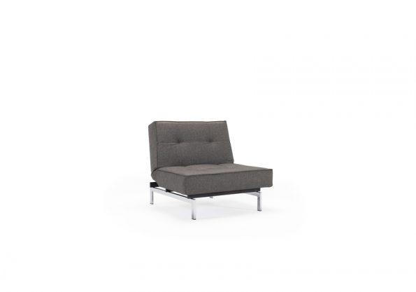 Дизайнерски фотьойл Splitback Chrome