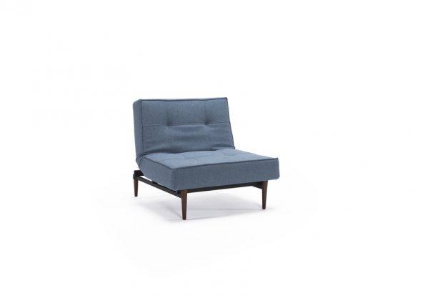 Дизайнерски фотьойл Splitback Dark