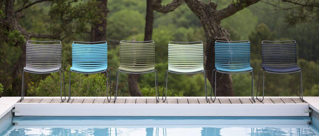 Дизайнерски градински стол Click 2