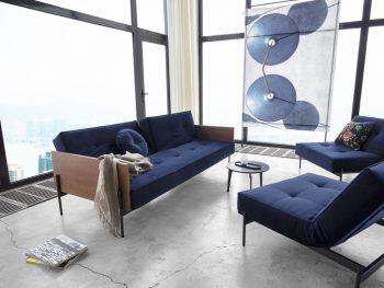 Дизайнерски разтегателен диван Splitback Lauge