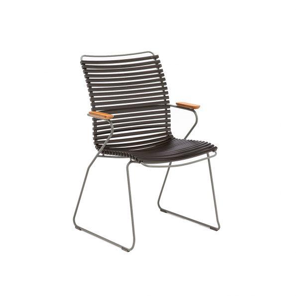 Дизайнерски градински стол Click Black
