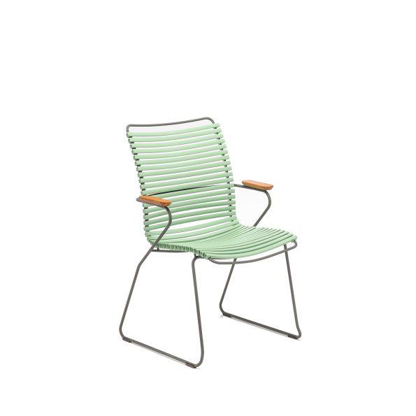 Дизайнерски градински стол Click Dusty Green