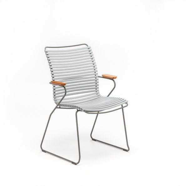 Дизайнерски градински стол Click Grey