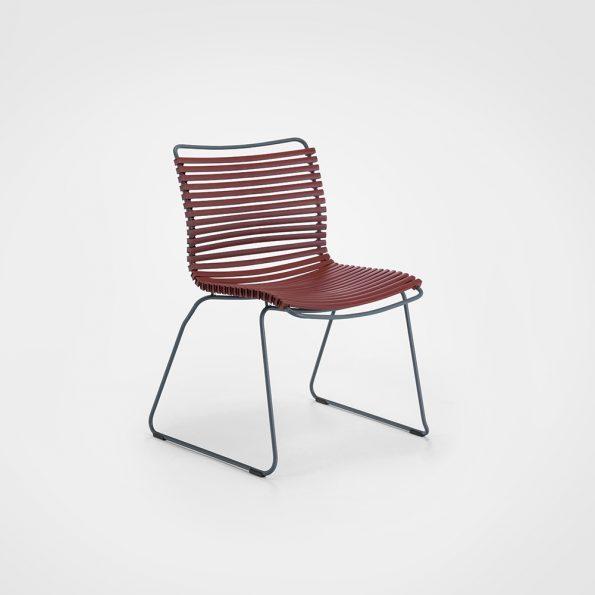 Дизайнерски градински стол CLICK_Paprika