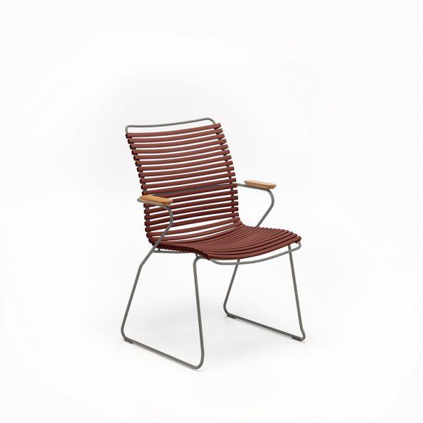 Дизайнерски градински стол Paprika