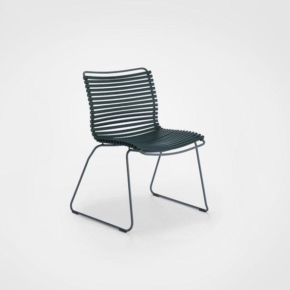 Дизайнерски градински стол CLICK_Pine_Green
