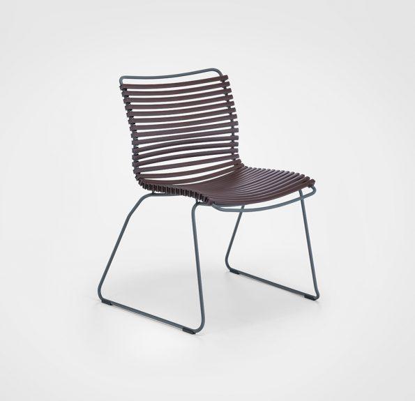 Дизайнерски градински стол CLICK_Plum