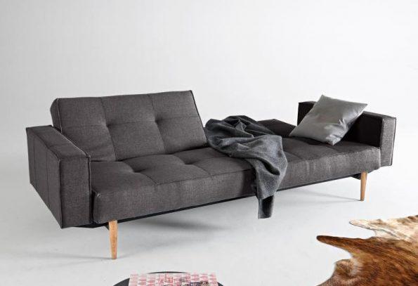 Разтегателен диван Splitback Light Styletto с подлакътници