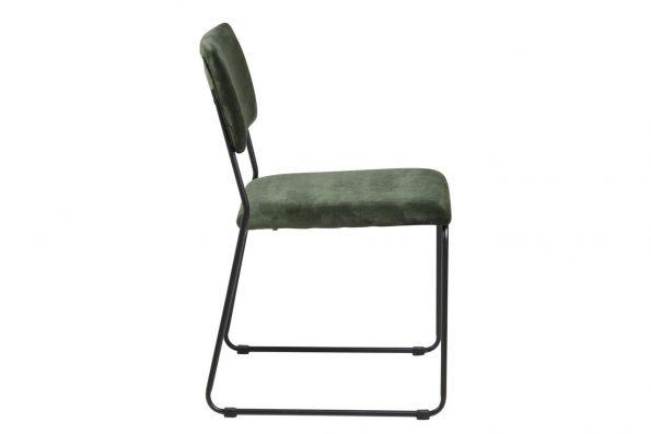 Стол за трапезария Cornelia горско зелен плюш 1
