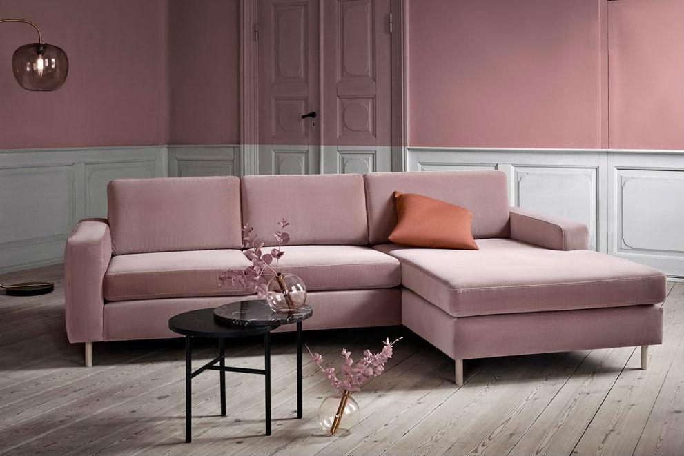 диван с лежанка Scandinavia