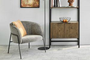 Кресло Scandia в цвят антрацит