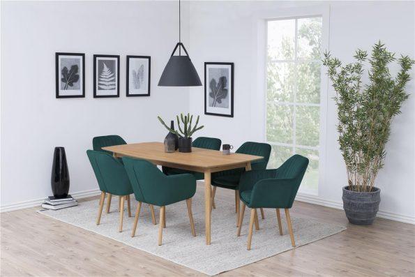 Дизайнерски стол Emilia Oak
