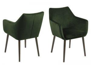 Стол за трапезария Nora горскозелен плюш