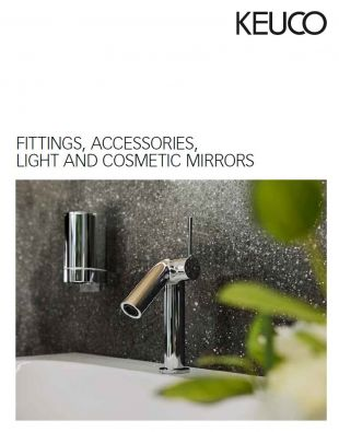 keuco fittings accessories light cosmetic mirrors