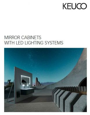 Keuco mirror cabinets led lighting systems