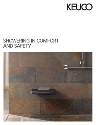 Keuco showering in comfort and safety