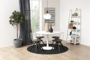 Кръгла маса Ibiza White ф-110 см.-1