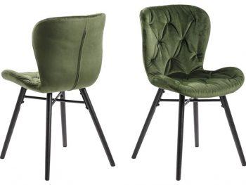 Стол за трапезария Batilda A1 горскозелен плюш