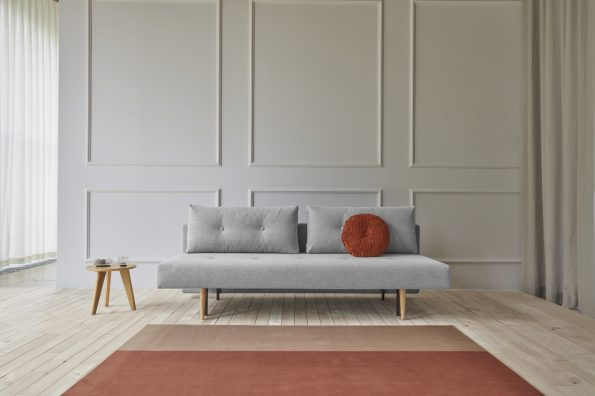 Разтегателен диван Recast Light Wood