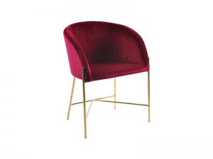 Стол за трапезария Nelson бордо плюш