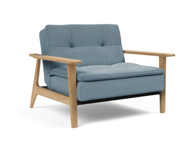 Дизайнерски фотьойл DUBLEXO Frej Oak